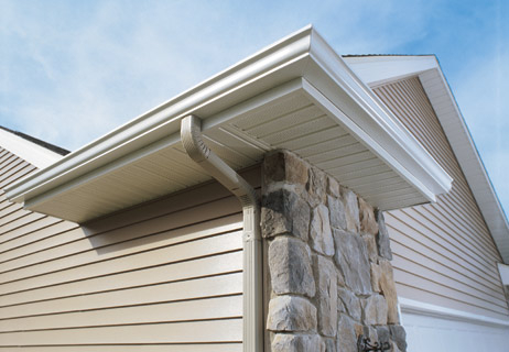 Eavestrough Soffit And Fascia Grand Building