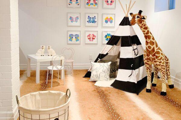 Basement Renovation - Torono - Designer Carpet