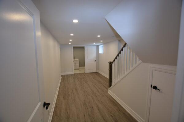 Basement Renovation with Bathroom - North York - Toronto - GTA 1