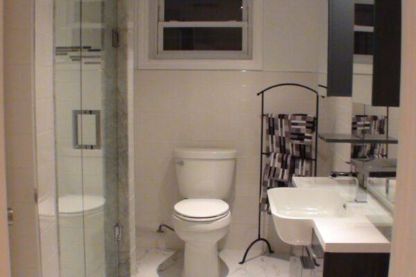 Bathroom Renovation - Basement Bathroom - Leaside - Toronto - GTA