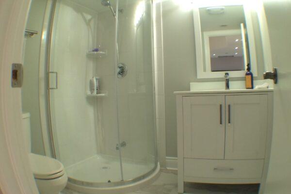 Bathroom Renovation - Prefab shower - Toronto - GTA