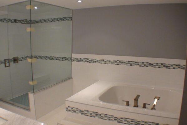 Bathroom Renovation - Roman faucet - Ensuite Bathroom - Scarborough - Toronto - GTA