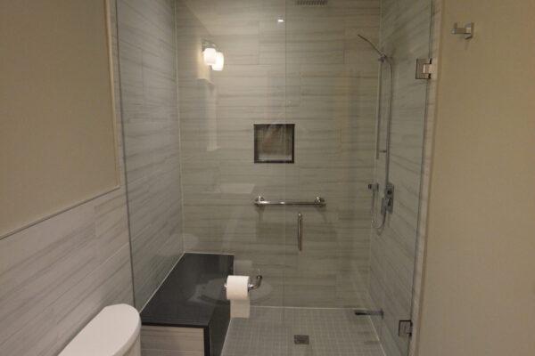 Bathroom Renovation - Shower bench - North York - Toronto - GTA
