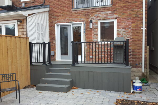 Deck Renovation - - Composite PVC deck - Mid town - Lawrence park -Toronto - GTA