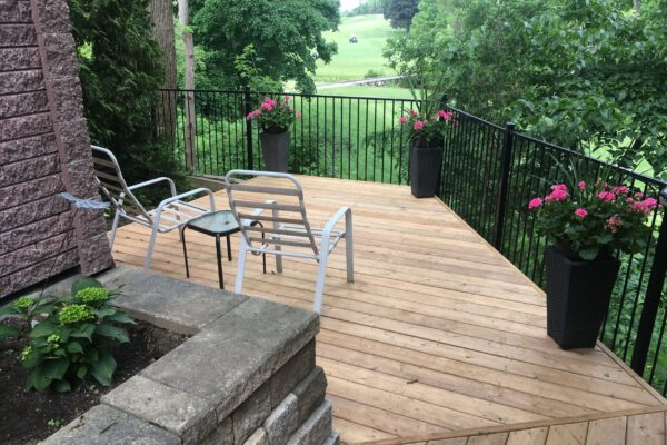Deck Renovation - Dream deck overlooking golf course - Etobicoke - Toronto - GTA