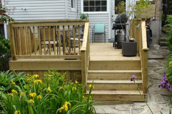 Deck Renovation - - Pressure treated deck - Beaches - Toronto - GTA