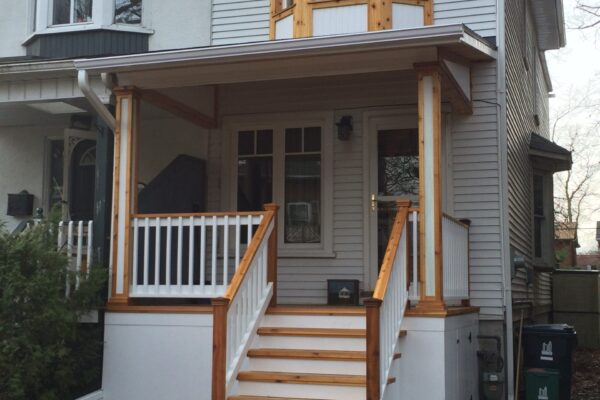Deck Renovation - Wood Porch - Beaches - Toronto - GTA