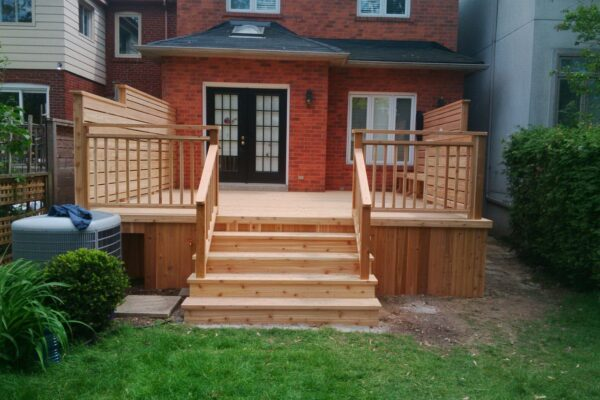 Deck Renovation - - deck privacy fence - Toronto - GTA