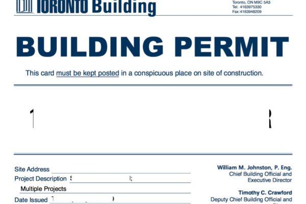 Design Build Custom Project - Building permit