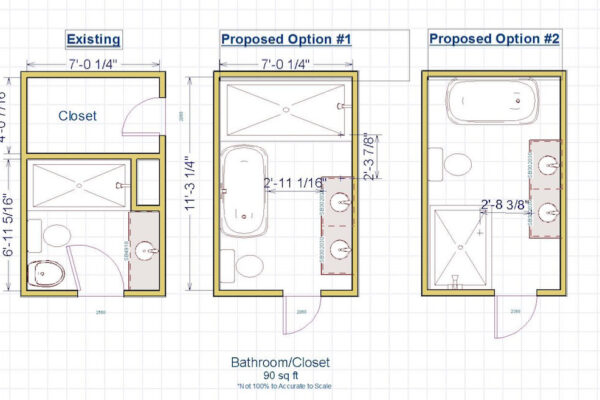 Design Build Custom Project - Custom Cabinetry layout - Plans - Options