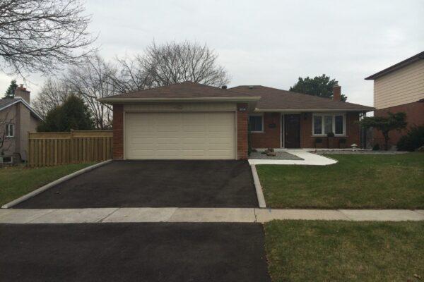 Driveway Renovation - Asphalt driveway - Scarborough - Toronto - GTA