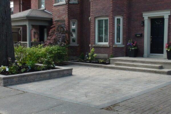 Driveway Renovation - Bestway Interlock pavers - Rosedale - Toronto - GTA 1