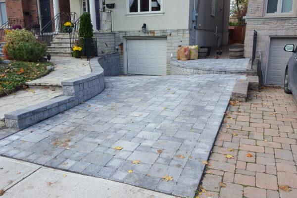 Driveway Renovation - Bestway interlock paving stones - Leaside - Toronto - GTA
