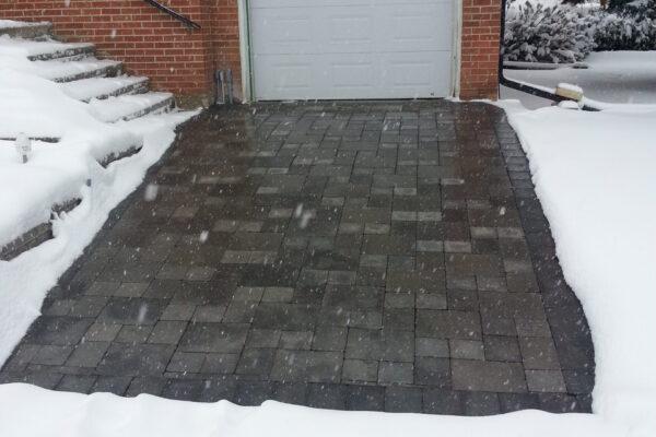 Driveway Renovation - Bestway interlock paving stones - North Etobicoke - Toronto - GTA