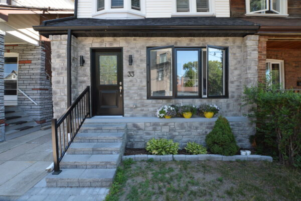 Exterior Renovation - Porch Enclose - Addition - Junction - Toronto - GTA