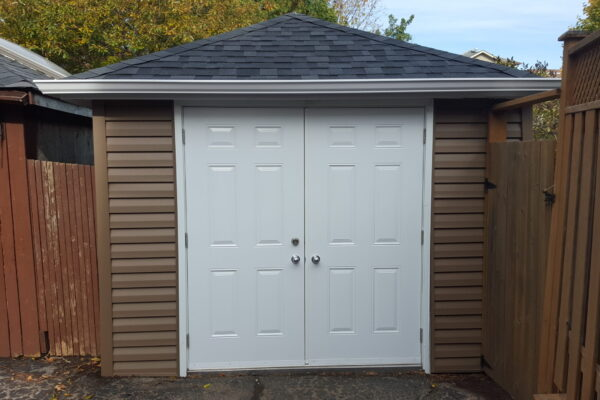Garage Renovation - Garage Restoration - Vinyl Siding - Scarborough - Toronto - GTA