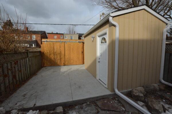 Garage Renovation - Motorcycle Garage Bike - New Build - Bloor West Village - Toronto - GTA