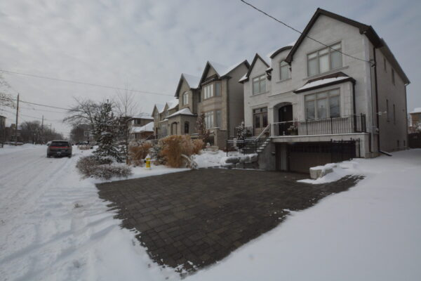 Heated Driveway - Snowmelt System - Lawrence Park - North York - Toronto - GTA