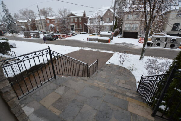 Heated Porch Renovation - Heated walkway Driveway - Bedford Park - Toronto - GTA