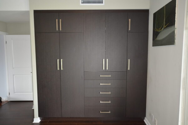 Interior Renovation - Custom Cabinetry - Built-ins - Condo - Thermofoil - North York - Toronto