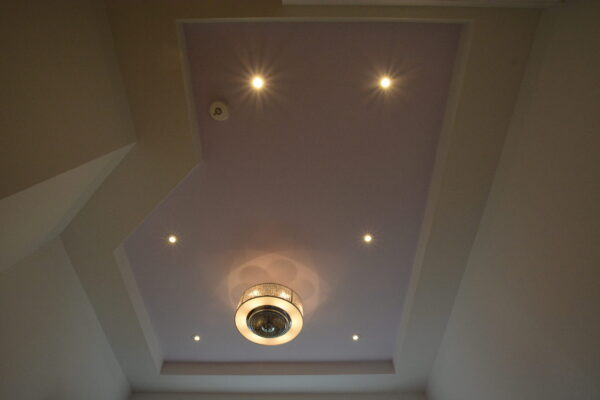 Interior Renovation - Custom Tray Ceiling - Lighting - paint - Toronto - GTA