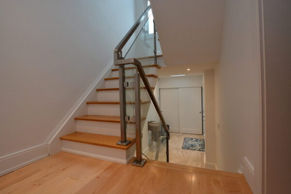 Interior Renovation - Modern - Glass Railing - Industrial - Toronto - GTA