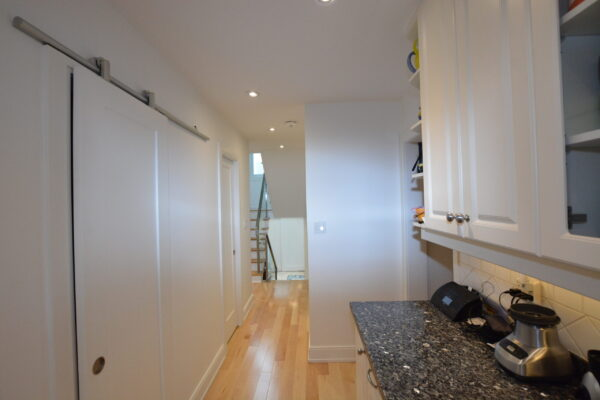 Interior Renovation - Sliding doors - Pantry - Kitchen - Flooring - Toronto - GTA
