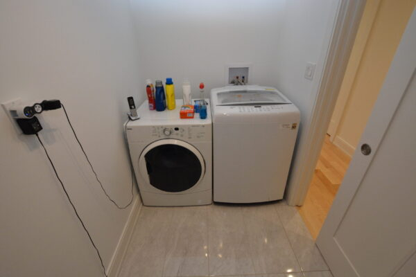 Interior Renovation - second floor laundry room - Toronto - GTA