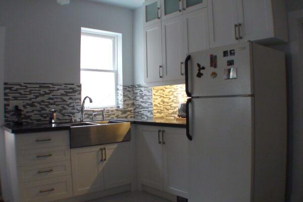 Kitchen Renovation - Custom Kitchen - Thermofoil Cabintry - Beaches - Toronto - GTA