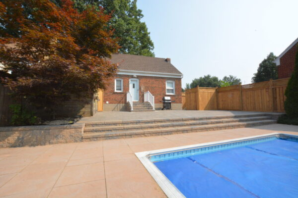 Landscaping Interlock - Pool hardscape - Scarborough - Toronto - GTA