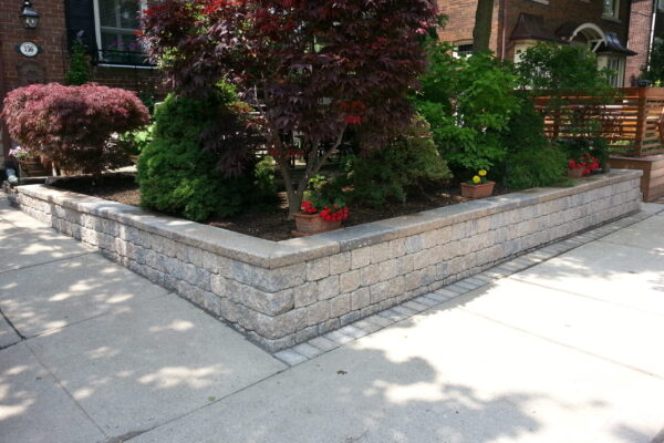 Landscaping Retaining wall - hardscape - Forest Hill - Toronto - GTA