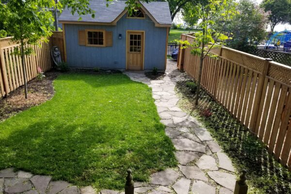 Landscaping - Sod and Flagstone - New Toronto - Toronto - GTA