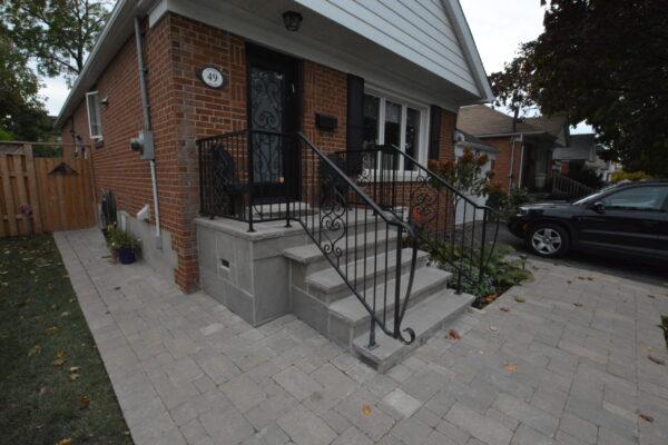 Porch Renovation - Banas Stone - North York - Toronto - GTA