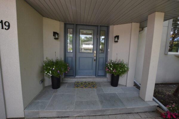 Porch Renovation - Banas Stone - Thornhill - Markham - Toronto - GTA