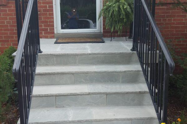 Porch Renovation - Banas Stone - Toronto - GTA