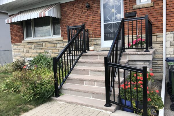 Porch_Renovation_-_Banas_Stone_-_Custom_Aluminum_Railings_-_North_York_-_Toronto_-_GTA