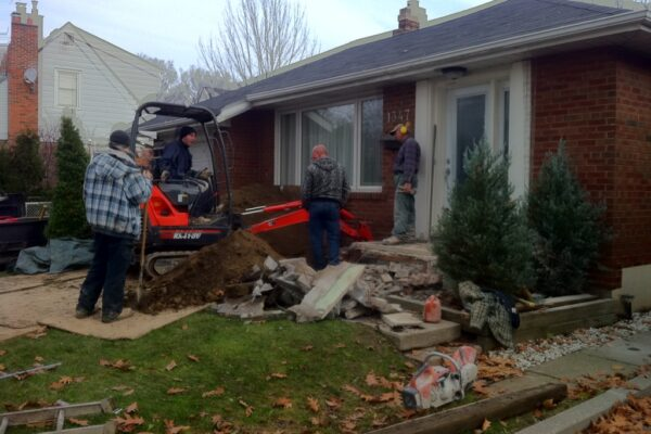 Waterproofing - Crew - Etobicoke - Toronto - GTA