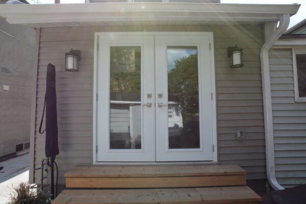 Window door renovation - New Door - Patio Door - Leslieville - Toronto - GTA