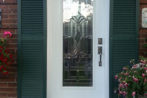 Window door renovation - New Door - White Front Door - Etobicoke - Toronto - GTA