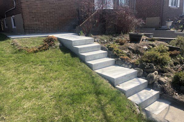 Concrete Stairs- York - Toronto - GTA